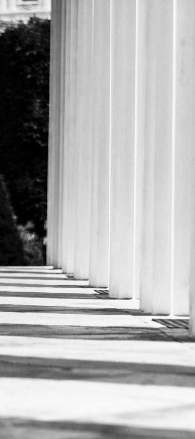 grayscale-photography-of-empty-hallway-2935910